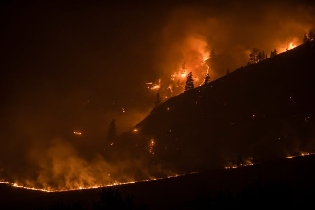 bc wildfires elephant hill clinton