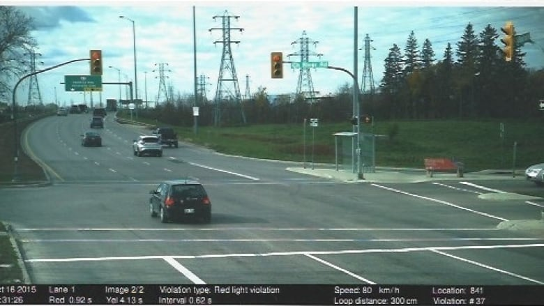 This Image Captured By Red Light Camera Shows Winnipeg Senior James  Aisaican Chase Entering The Intersection At Bishop Grandin And River Road  0.29 Seconds ...