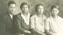 Marilyn Vann's father and his sisters