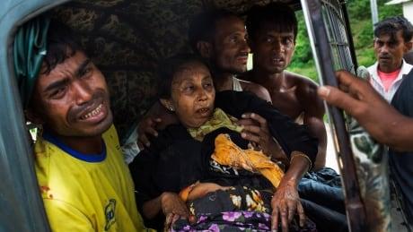 APTOPIX Bangladesh Myanmar Attacks