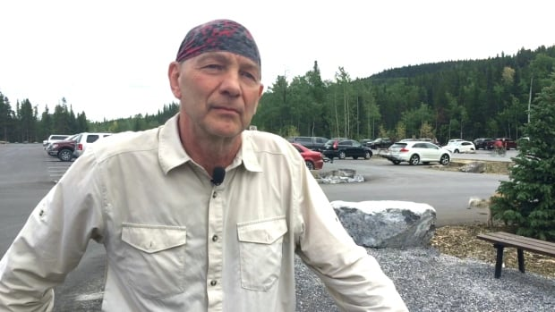 Bob Truman said he was disheartened to see cow manure and urine in the newly paved lot in West Bragg Creek.
