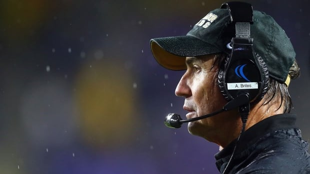 Hamilton's hiring of former Baylor University coach Art Briles was quickly reversed after a public outcry over the move.