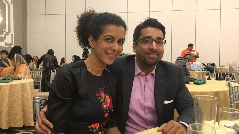 Sulemaan Ahmed and Khadija Cajee, parents of now 8-year-old Syed Adam Ahmed, who is on Canada's 'no fly' list.