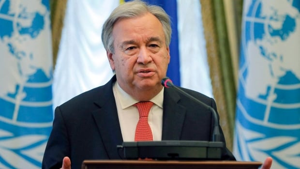 United Nation Secretary-General Antonio Guterres spoke on the North Korea crisis as ambassadors from around the world grapple with how to target the regime economically.