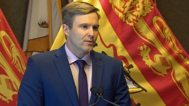 Premier Brian Gallant announced a cabinet shuffle on Tuesday in Saint John.