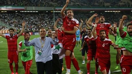 Iran Syria World Cup Soccer
