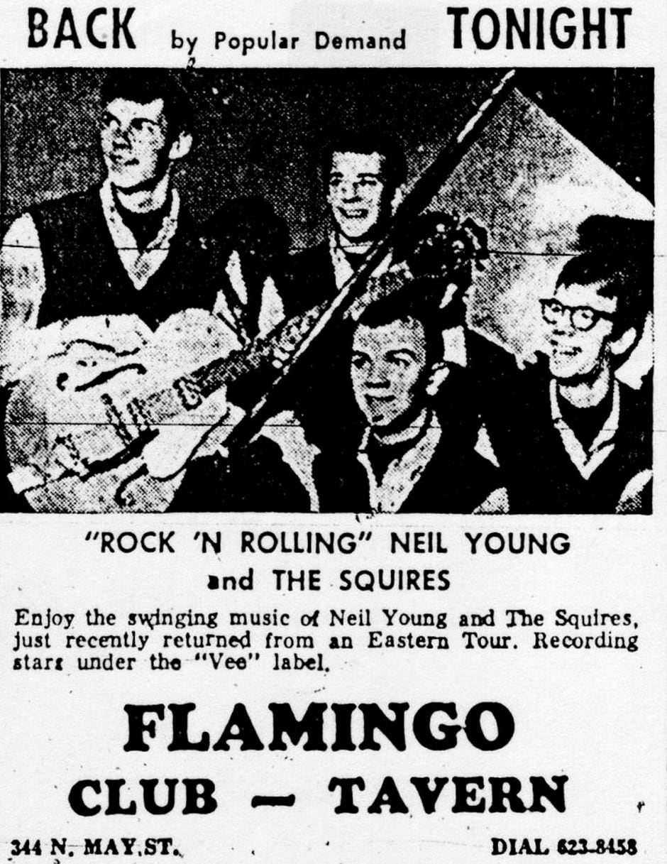 Neil Young and the Squires