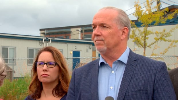 NDP Leader John Horgan pledged in August, 2016 that he would eliminate portables in Surrey in four years.