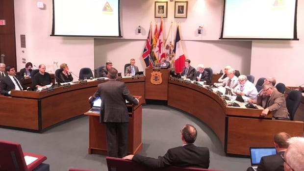 City councillors get a sobering fiscal update from Kevin Fudge, the city's finance commissioner on Tuesday night.
