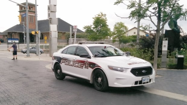 A Guelph Police officer may have been exposed to fentanyl at the scene of a crash in the city's north end on Sept. 27.