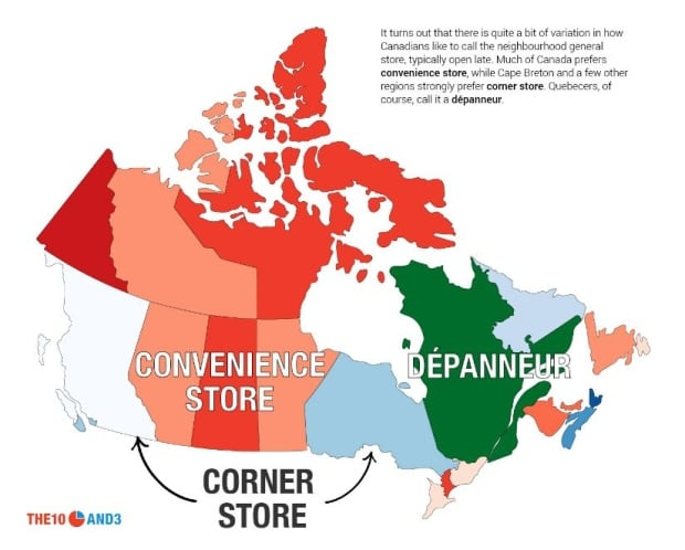 Canadian slang study