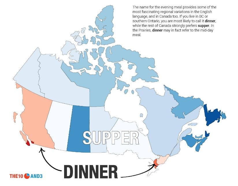 Lost in translation: Study on Canadian slang draws strange dividing