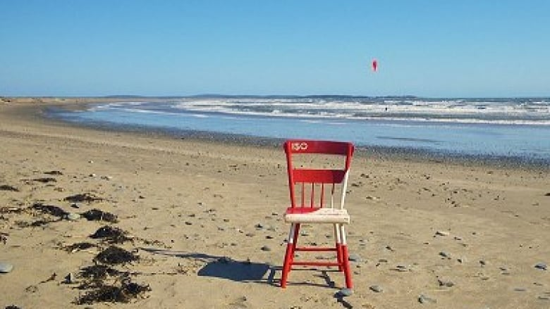 A front-row seat to Canada 150: chair travels around province for