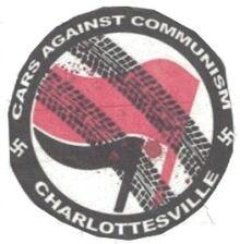 neo-nazi sticker rosemont