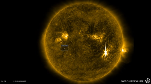 Solar flare X9.3