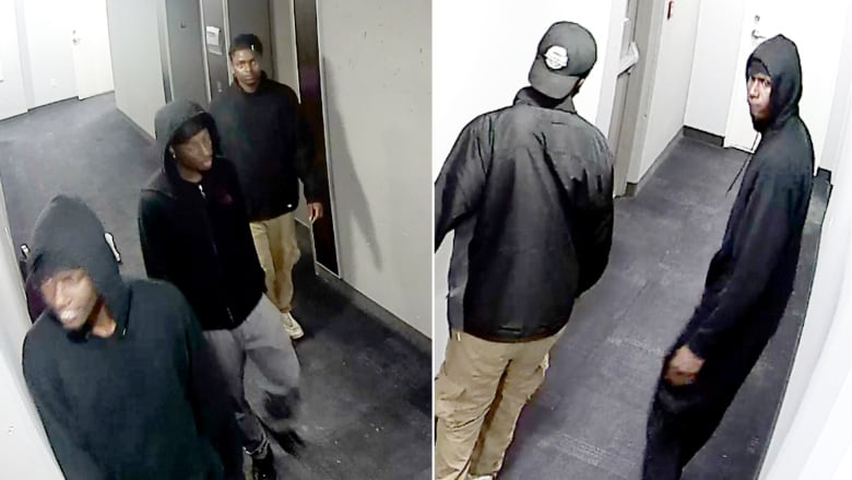 3 men on video seen during thefts at student housing | CBC News