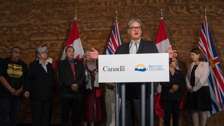 First Nations hopeful new B C  government's pledges are more than