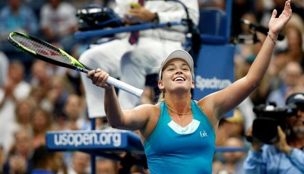 US Open Tennis CoCo Vandeweghe