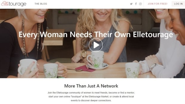 Elletourage was started by a husband and wife team after they did some research on the impact loneliness has on women.