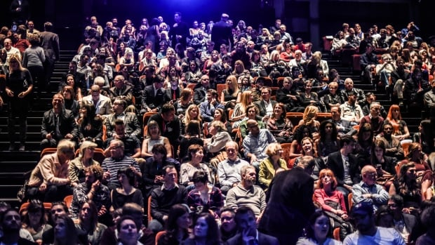 The crowd gets ready for a screening at the 2016 Calgary International Film Festival.
