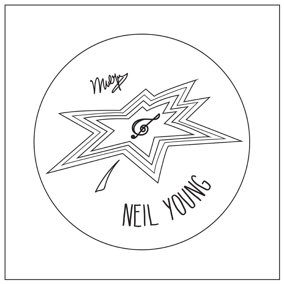 Neil Young's Canada Walk of Fame star