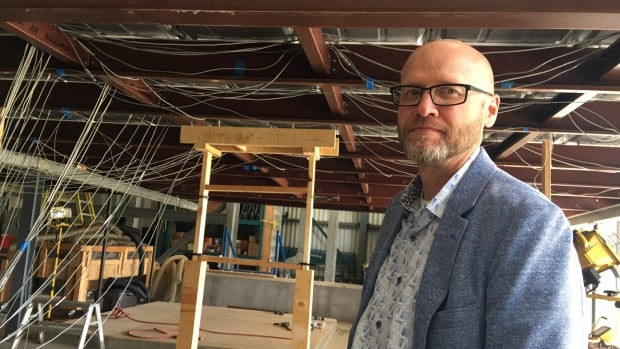 Greg Kopp leads a group of Western University researchers at the Insurance Research Lab for Better Homes. Located near London's airport, Kopp and his students try to simulate and study how buildings perform in windstorms, including hurricanes.