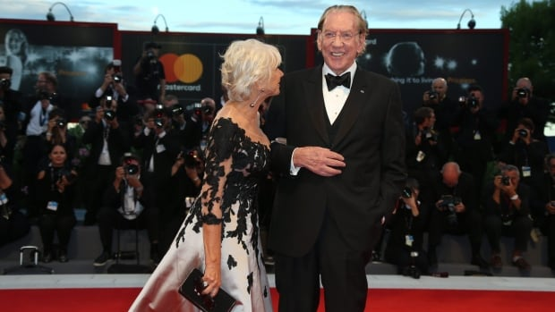 Canadian actor Donald Sutherland appeared with co-star Helen Mirren at the premiere of their film, The Leisure Seeker, at the Venice Film Festival on Sunday. On Wednesday, the Academy of Motion Picture Arts and Sciences announced Sutherland will be receiving an honorary Oscar in November.