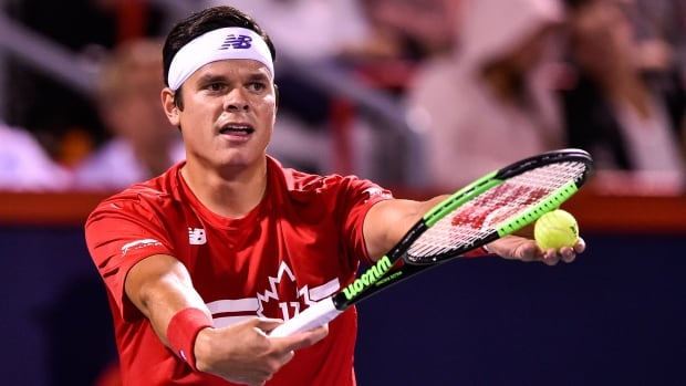 Milos Raonic missed the U.S. Open due to left wrist surgery.