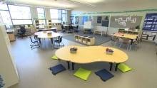 École Sage Creek classrooms