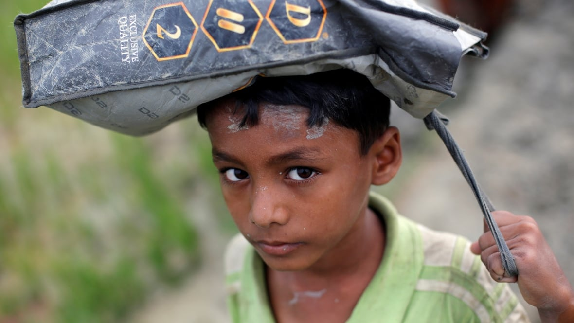 Thumbnail for Aid groups struggle to help 146,000 Rohingya refugees flooding into Bangladesh