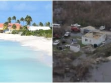 Ted Dominick says his small Florida Keys resort sustained a lot of damage during Hurricane Irma.
