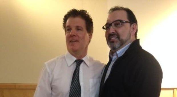 Brian and Glenn