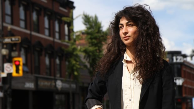 Petra Matar, 29, moved to Hamilton six years ago. As an artist and architect, she's both excited and fearful of the change happening in the city she loves.