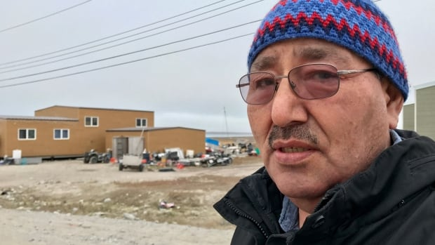 Louie Kamookak is a Gjoa Haven historian who spent more than 30 years recording oral stories of Inuit encounters with the ships and Franklin's men — stories that were key to resolving the nearly 170-year-old mystery. (Kate Kyle/CBC)