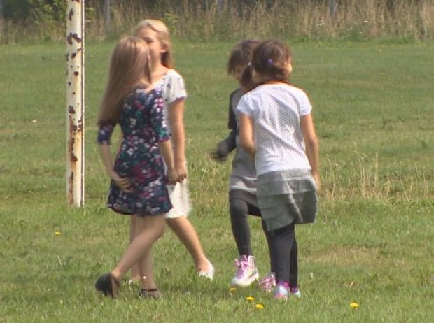 Children playing St. John's