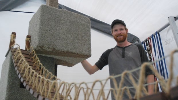 Daniel LeGoffe has been making 'cat mansions' for a few months now in Whitehorse. He's been advertising on social media and says he's surprised at how quickly orders have been coming in.