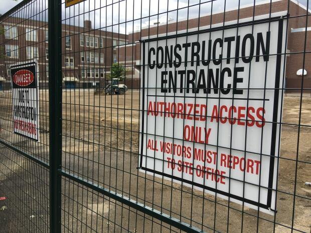 Toronto School construction