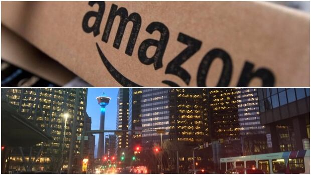 Calgary's mayor says the city is in contention for Amazon's new headquarters, which could bring 50,000 jobs to Calgary.
