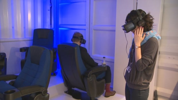 TIFF's Bell VR Theatre is screening six virtual reality short films.
