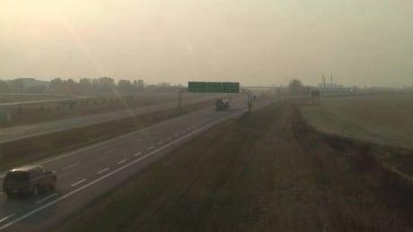 Haze in Moose Jaw, Sask., on Sept. 7, 2017