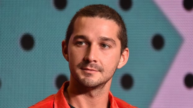 Actor Shia LaBeouf at the Borg/McEnroe TIFF press conference Thursday. LaBeouf plays tennis bad boy John McEnroe in the movie about his famed 1980 showdown with Bjorn Borg at Wimbledon.