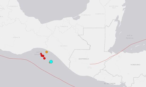 Mexico earthquake 8