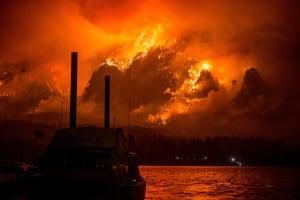 APTOPIX Western Wildfires--SS