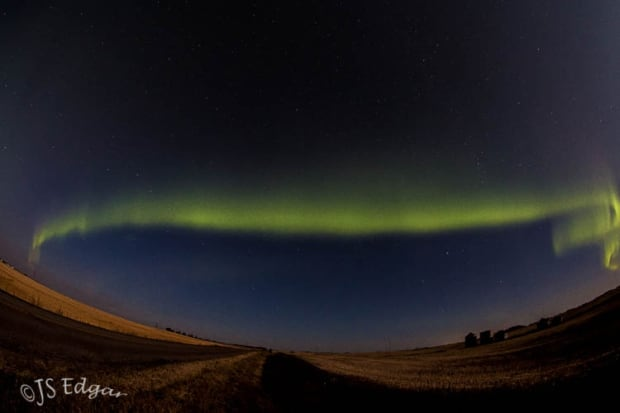 Northern lights Saskatchewan