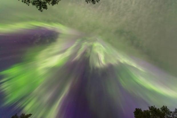 Aurora northern lights Finland