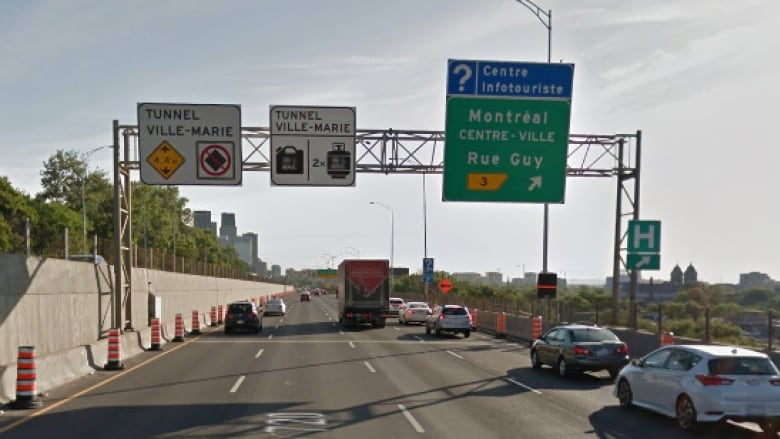 Guy Street exit off Ville-Marie Expressway to close for 10