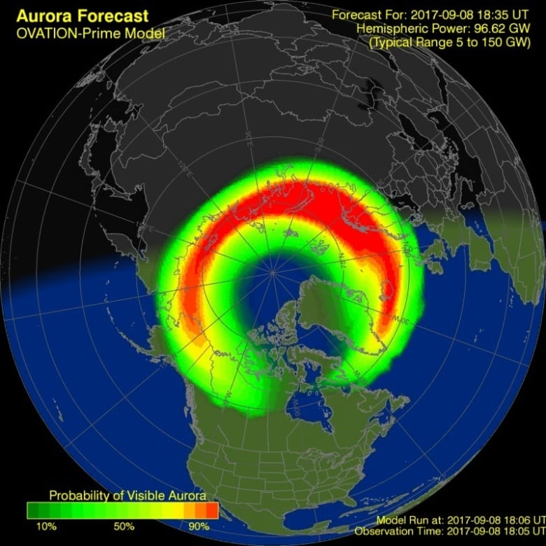Heads up! Chance to see northern lights again this weekend