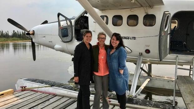 Colette Derworiz, Catherine Lang, Robin Summerfield