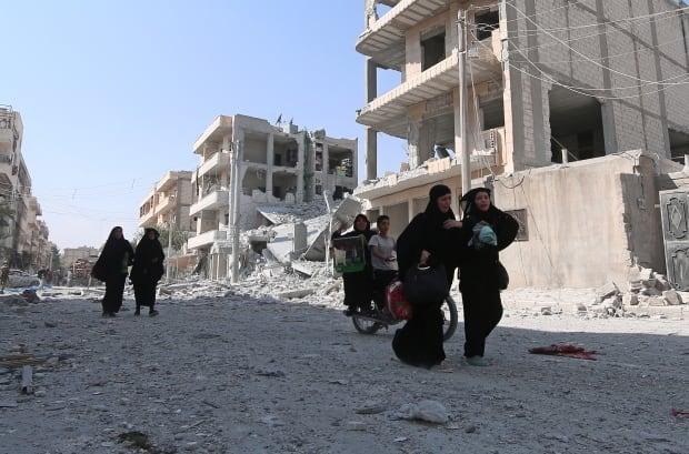 Manbij evacuation
