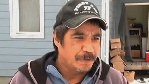 Earl Hope says the weather Saturday in Nahanni Butte is much better after the past two days,